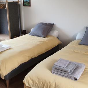 The double bedroom - Petit Crochet Home à Fresnay-sur-Sarthe
