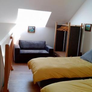 La chambre double - Gîte du Petit Crochet à Fresnay-sur-Sarthe