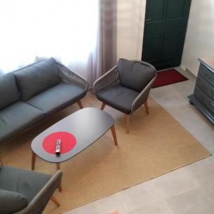La salle - Gîte du Petit Crochet à Fresnay-sur-Sarthe