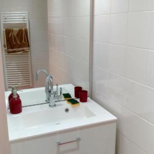 La salle d'eau - Gîte du Petit Crochet à Fresnay-sur-Sarthe
