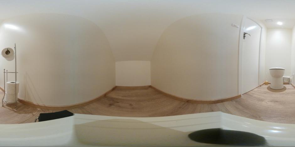 Les toilettes-Gîte du Petit Crochet
