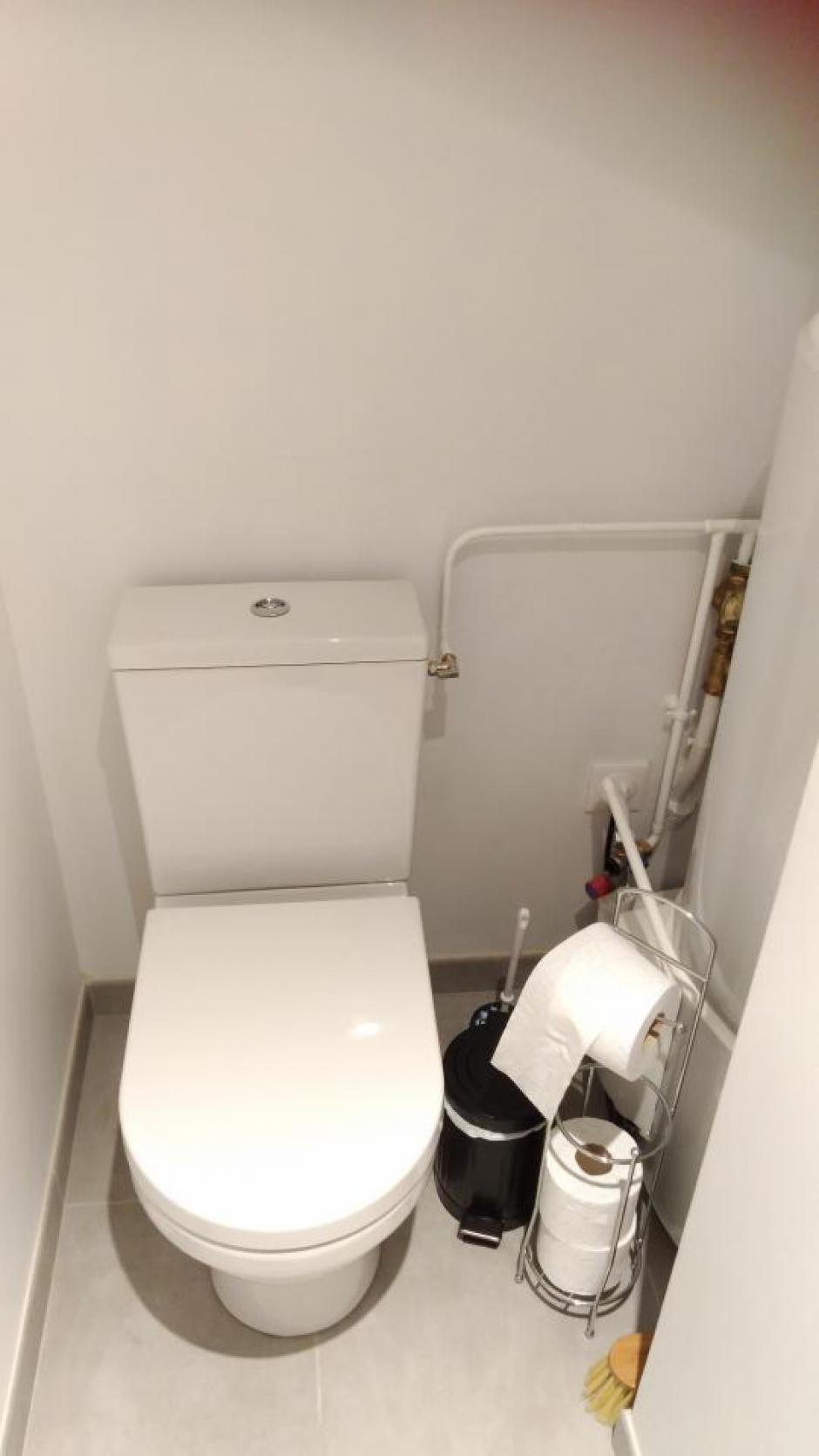 Les toilettes - Gîte du Petit Crochet à Fresnay-sur-Sarthe